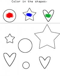 coloring pages printable colors worksheets for preschoolers free