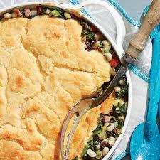 ham and greens pot pie with cornbread crust recipe myrecipes