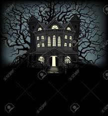 Halloween Light House by 3 107 Halloween Haunted House Background Stock Vector Illustration