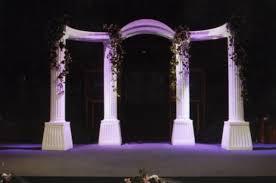 rent wedding arch wedding arch set column style rental palatine il rent wedding