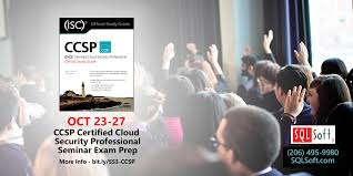 ccsp certified cloud security professional seminar and exam prep