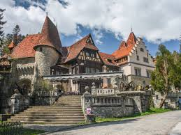 historical castles peles castle former home of the romanian royal family