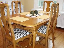 Covering Dining Room Chairs Furniture Reupholster Dining Room Chairs Awesome How To