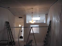 how to apply knock down ceiling texture orange peel drywall help