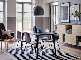 ikea dining room table and chairs dining room furniture ideas ikea with regard to black dining room