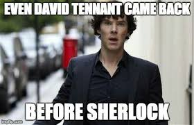Doctor Who Memes Funny - funny wholock meme shared by eli brown on we heart it