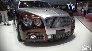 mansory bentley interior up close mansory flying spur at geneva 2014 youtube