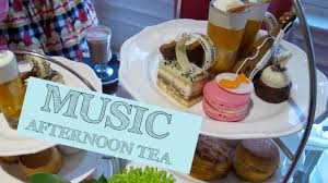 cake afternoon tea in london music themed tea party youtube