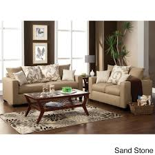 Sofa With Pillows Colebrook 2 Piece Sofa Set With Accent Pillows Free Shipping
