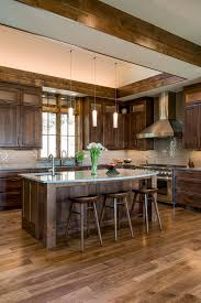 kitchen colors with medium brown cabinets 11 easy ways to modernize brown cabinets