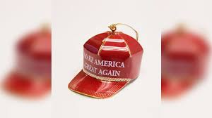 donald trump is selling a 150 christmas ornament
