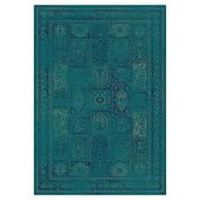 turquoise area rug target