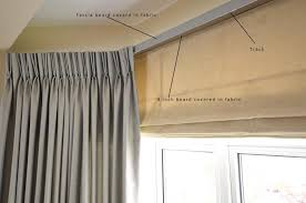 Can You Put Curtains Over Blinds Coffee Tables How To Hang Fabric On Ceiling Without Nails