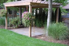 Pergola Landscaping Ideas by Stone Patios Solon Hudson Chagrin Falls Oh Hoehnen Landscaping