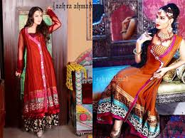 latest angrakha style dress designs for women 2017 2018