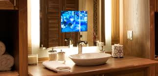 Tv In Mirror Bathroom by Bathroom Remodeling Ideas