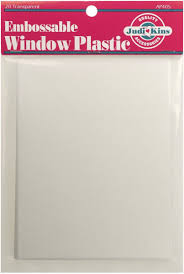 amazon com judikins embossable window plastic sheets 4 25 inch x