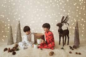 christmas tree twinkle lights bokeh photographer overlay for
