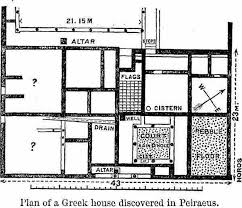 ancient greece floor plan ancient greek home floor plan home plan