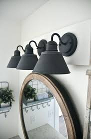 Above Mirror Vanity Lighting Industrial Style Vanity Lights Black Bathroom Vanity Light Best