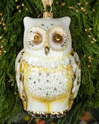owl christmas strongwater owl christmas ornament