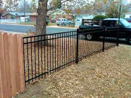 decoration lovely fences page fence cost estimator menards steel
