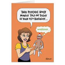 funny 45th birthday cards greeting u0026 photo cards zazzle