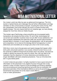 Sample Mba Resumes Motivation Letter Cover Letter Gallery Cover Letter Ideas