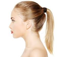 ponytail hair how to put hair in a ponytail