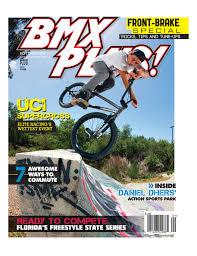 bicycle motocross action magazine enns u0027 bmx plus cover w mini interview u2013 volume bikes