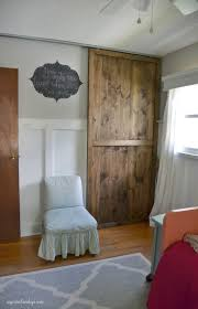 How To Build A Sliding Closet Door 20 Diy Sliding Door Projects To Jumpstart Your Home S Rennovation