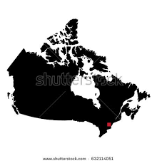capital of canada map map silhouette canada capital city stock vector 632114051