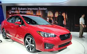 2017 subaru impreza hatchback red 2017 subaru impreza more for everyone the car guide