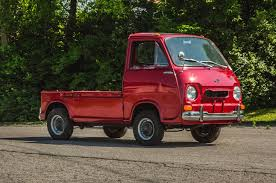 subaru mini truck vintage subaru 360 drive inauspicious roots motor trend