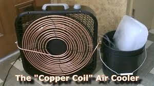 what is the best fan that blows cold air homemade ac the copper coil air cooler simple box fan