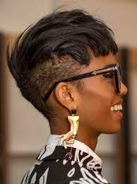 full forward short hair styles short cut undercut with hair combed forward creating blunt bangs