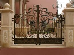 wrought iron gate gates designed from antiquity wig902