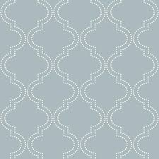 blue quatrefoil wallpaper slate blue quatrefoil peel and stick wallpaper