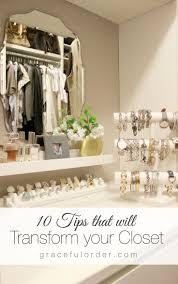 Wardrobe Organiser Ideas by Best 25 Jewelry Organization Ideas Only On Pinterest Jewelry