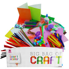 kids big bag of craft cheap children u0027s art u0026 craft