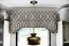 Silver And Gold Home Decor by Decorations Elegant Gray Silver Stenciled Window Cornice Come