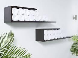 Small Bathroom Towel Storage Ideas Colors Bathroom Comfortable Soft Towel Shelves With Unique Design For
