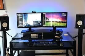 Dual Computer Desks Dual Workstation Computer Desk Nice Soft Dual Monitor Setup Dual