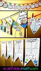 Halloween Math Crafts by 208 Best Math Pennants Images On Pinterest Teaching Ideas