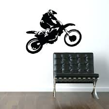motorcycle home decor perfect scrambler motorcycle dirt bike wall art car decal sticker