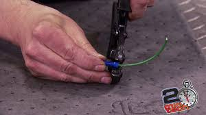 two minute tech convert a 2 wire alternator to single wire