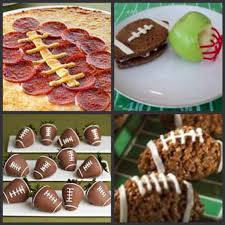 football themed foods