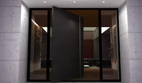 pivot exterior door architectural pivot door contemporary