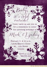 winter birthday invitation wording ideas u0026 joint snow party verses