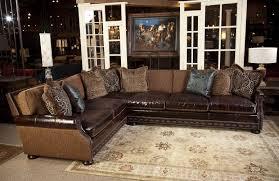 western leather sofa varnished wood floating fireplace mantel shelf table polished from